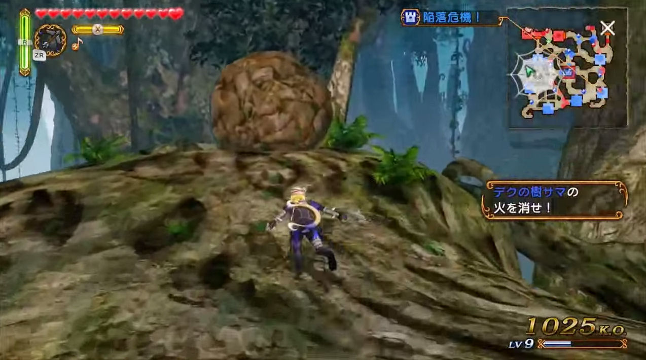 Hyrule Warriors Walkthrough Faron Woods Zelda Dungeon