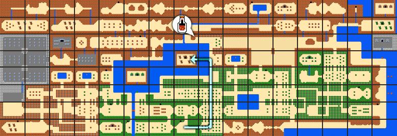 The Legend of Zelda Walkthrough - Level 1: The Eagle - Zelda ...