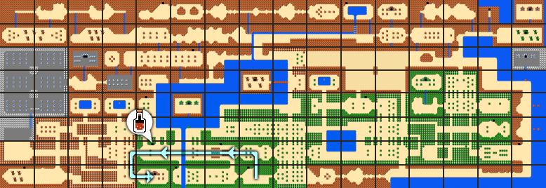 The Legend Of Zelda Walkthrough Level 3 The Manji Zelda Dungeon