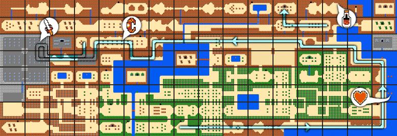The Legend of Zelda Walkthrough - Level 5: The Lizard - Zelda Dungeon