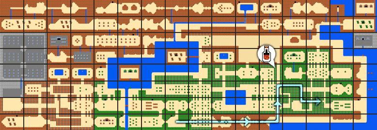 The Legend of Zelda Walkthrough - Level 8: The Lion - Zelda Dungeon
