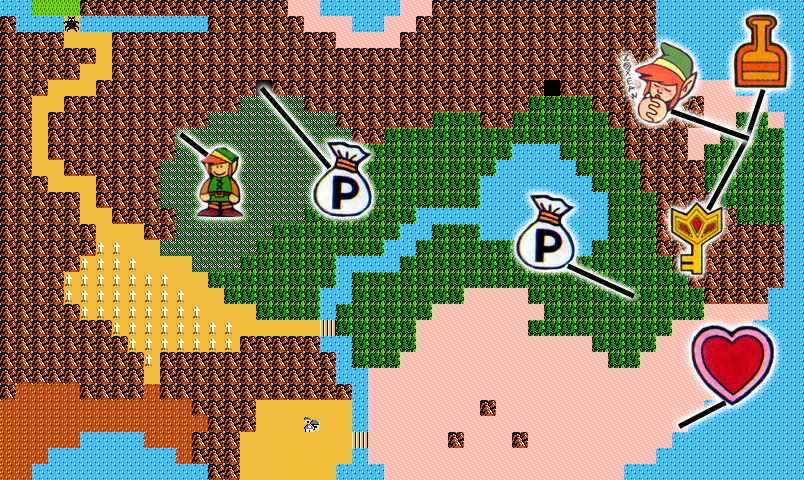 The Adventure of Link Walkthrough – Hidden Palace – Zelda Dungeon