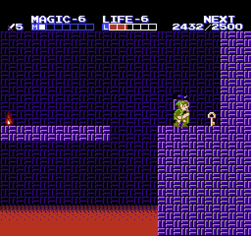 The Adventure of Link Walkthrough – Maze Palace – Zelda Dungeon