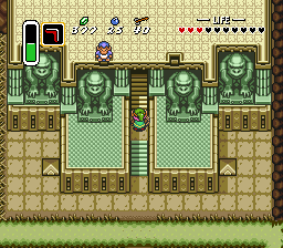 A Link To The Past Walkthrough Dark Palace Zelda Dungeon
