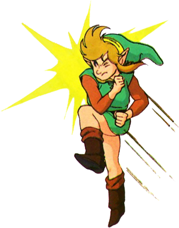 Link Dashing with the Pegasus Boots