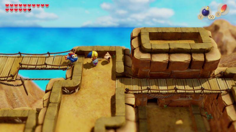 Link S Awakening Walkthrough Eagle S Tower Zelda Dungeon