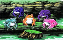 Fabulous Five Froggish Tenors