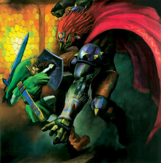 Link and Ganon Battle