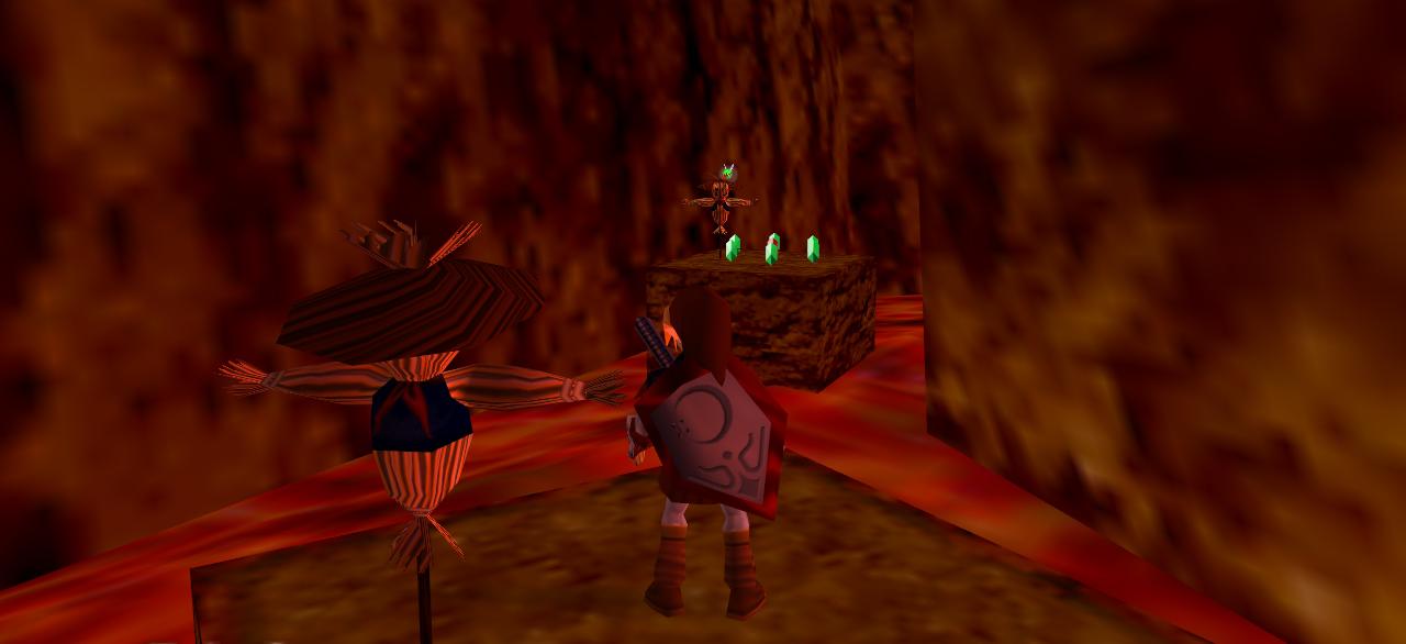 Resultado de imagen para scarecrow ocarina of time fire temple