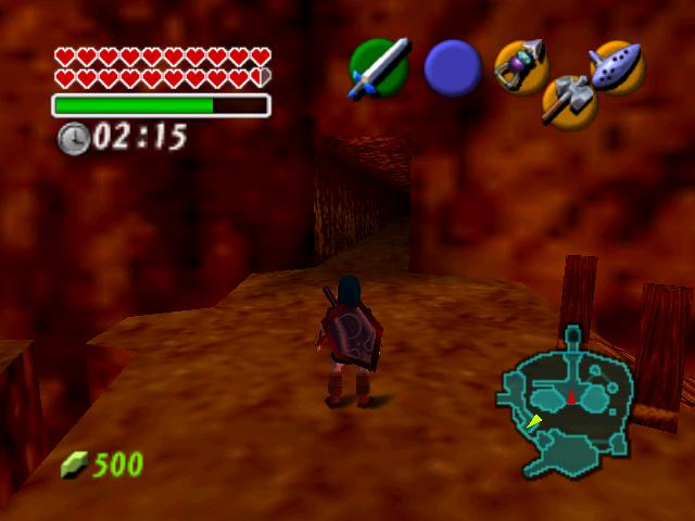 how to get double magic in ocarina of time