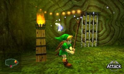 Ocarina of Time Walkthrough - Inside The Great Deku Tree - Zelda Dungeon