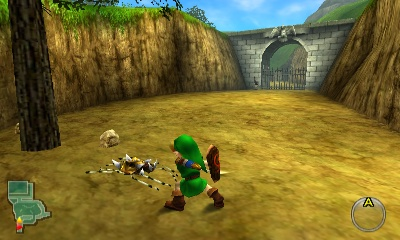 Ocarina Of Time Walkthrough Princess Of Destiny Zelda Dungeon