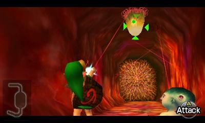 Ocarina of Time Walkthrough - Inside Jabu-Jabu's Belly