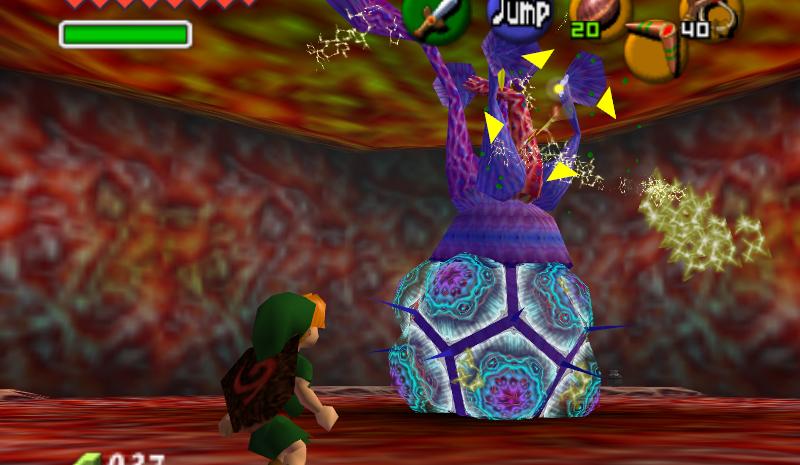 Ocarina of Time Master Quest Walkthrough - Inside Jabu