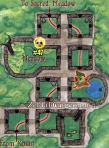 Ocarina of Time Walkthrough - Forest Temple - Zelda Dungeon