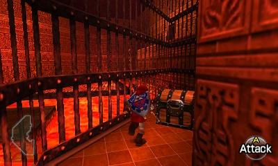 Ocarina Of Time Walkthrough Fire Temple Zelda Dungeon