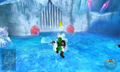 Ocarina of Time Walkthrough - Ice Cavern - Zelda Dungeon