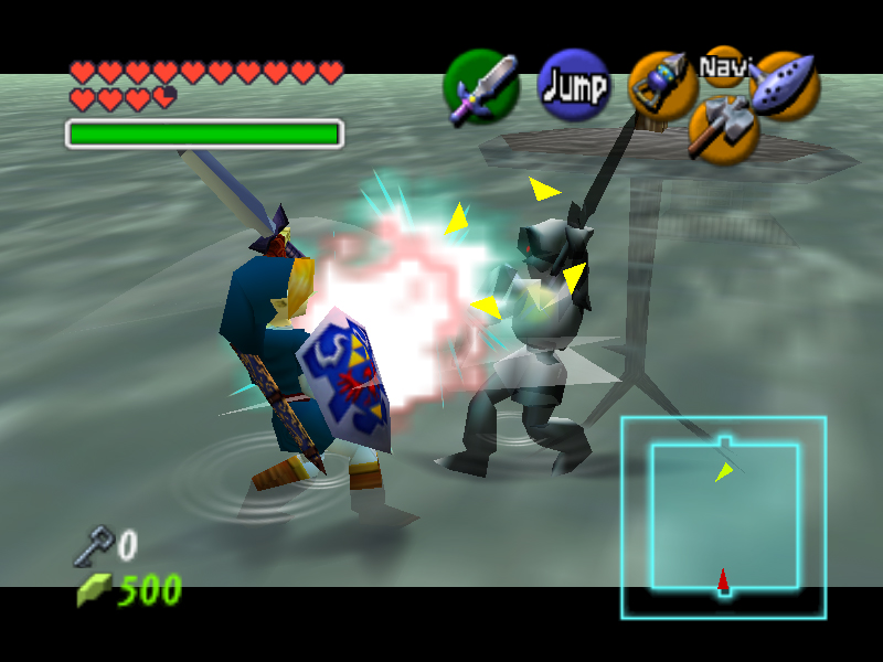 Ocarina of Time Master Quest Walkthrough - Water Temple - Zelda Dungeon