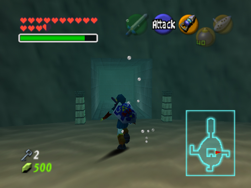 how to get to water temple ocarina of time