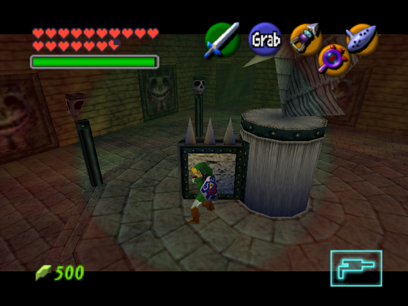 Image result for zelda oot statue puzzle