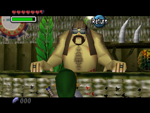 Majora's Mask: Woods of Mystery, First Bottle, and Pictograph Box