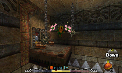 Majora S Mask Stone Tower Temple Switch Lava Room
