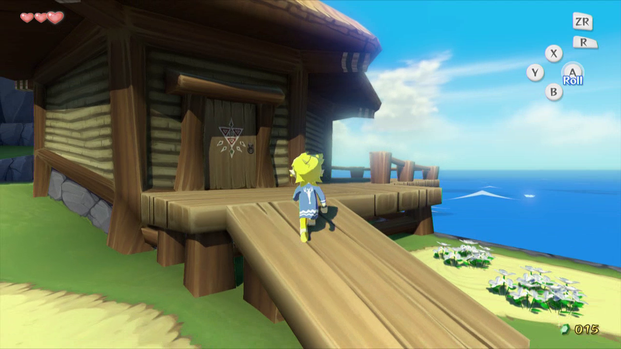 The wind waker walkthrough outset island zelda dungeon for Housse zelda
