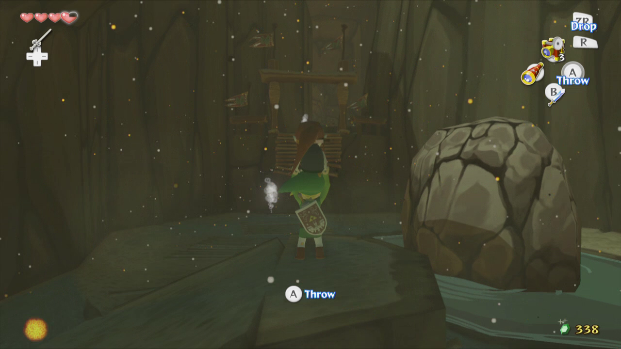 The Wind Waker Walkthrough Dragon Roost Island Zelda Dungeon
