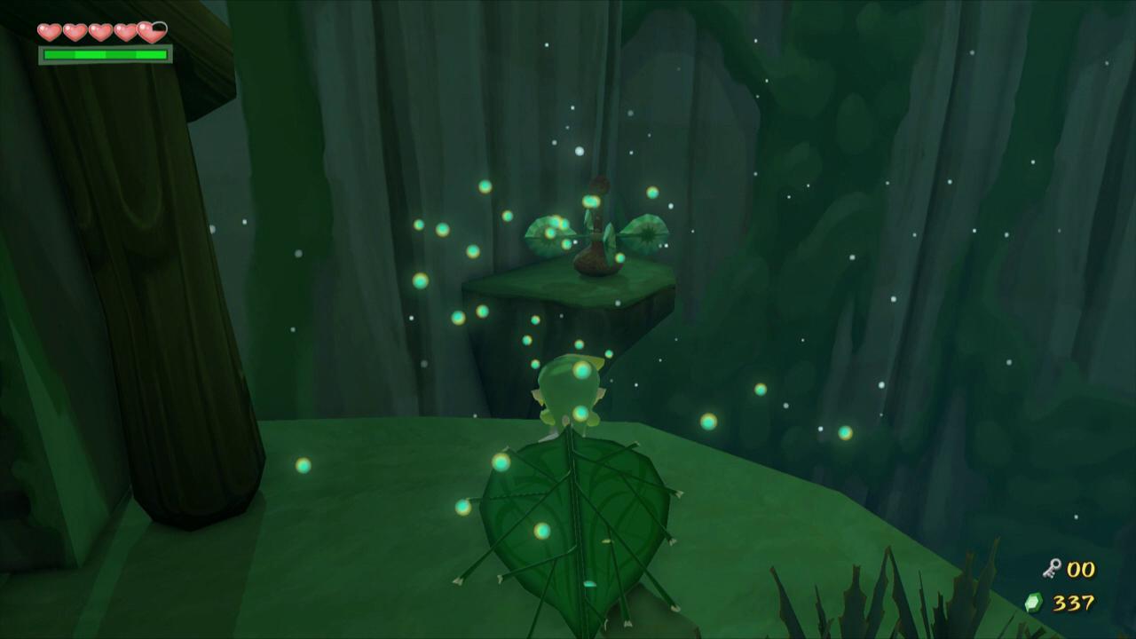 The Wind Waker Walkthrough - Forbidden Woods - Zelda Dungeon