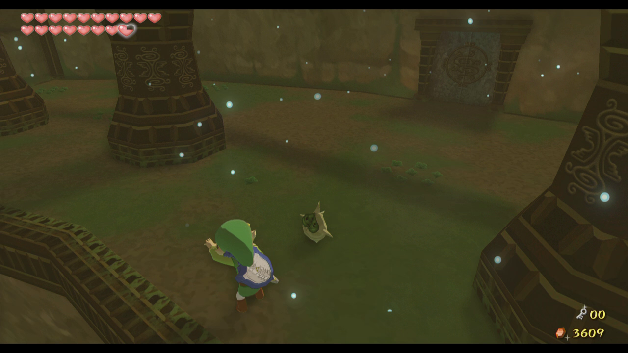 The wind waker walkthrough wind temple zelda dungeon defeat the many armos in this room to open the gate hiding a chest open the chest for a small key and then head back through the door we came from mozeypictures Image collections