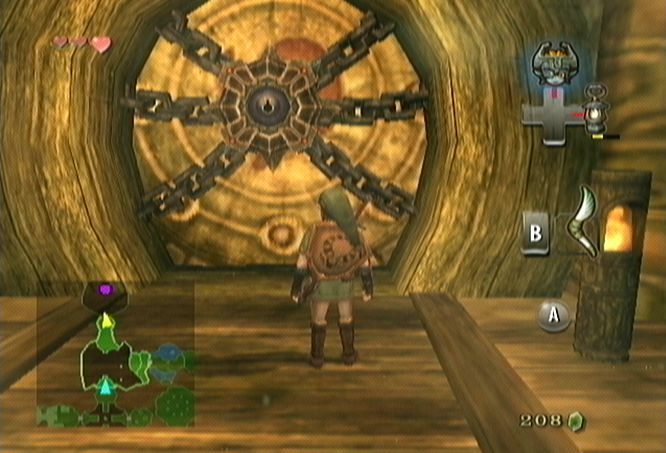 Twilight Princess Walkthrough Forest Temple Wii
