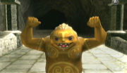 A refreshed Goron.