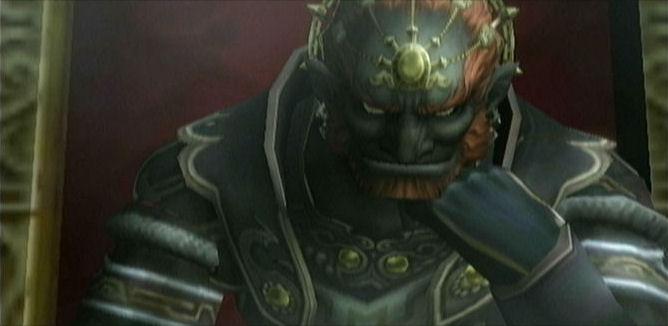 Ganondorf Staring
