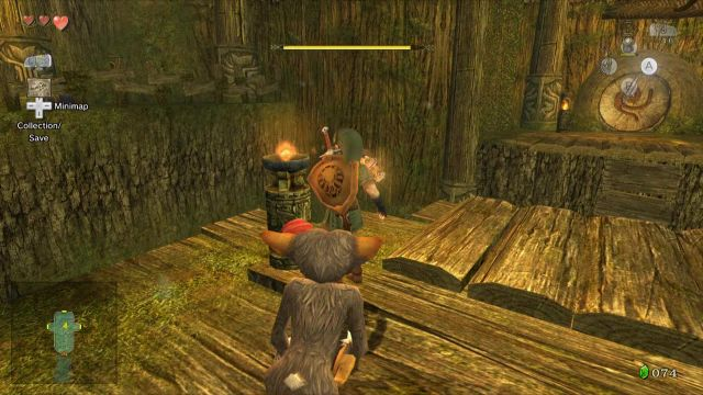 Twilight princess forest temple