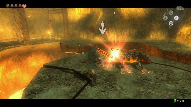 Twilight Princess Walkthrough - Goron Mines - Zelda Dungeon