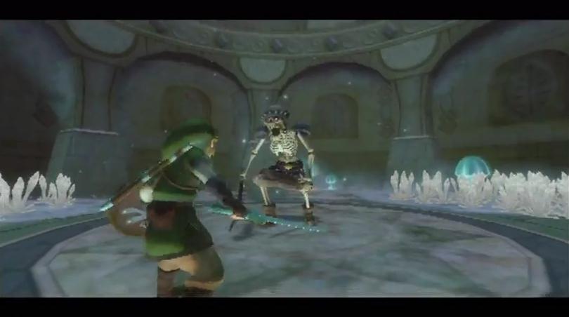 Skyward Sword Walkthrough Skyview Temple Zelda Dungeon