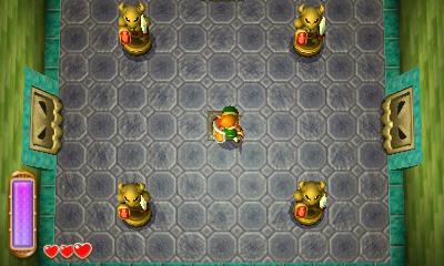 A Link Between Worlds Walkthrough Eastern Palace Zelda