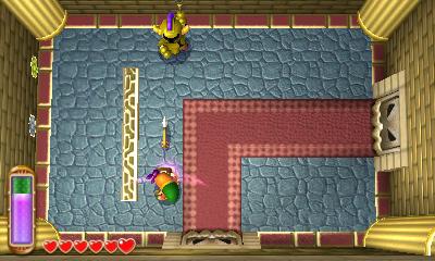 A Link Between Worlds Walkthrough - Hyrule Castle - Zelda