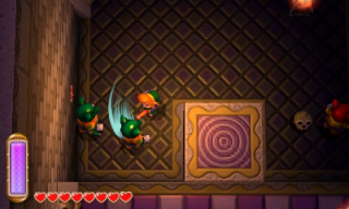 how to get to desert palace link between worlds