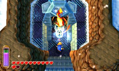 A Link Between Worlds Walkthrough Ice Ruins Zelda Dungeon