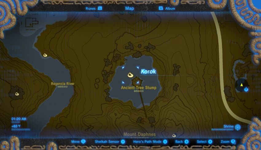 Central Korok Seed Locations Zelda Dungeon