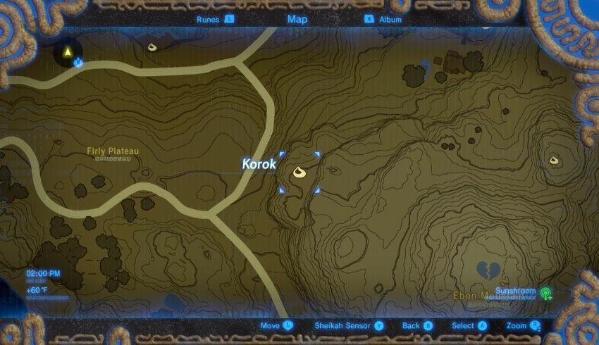 Hateno Korok Seed Locations Zelda Dungeon