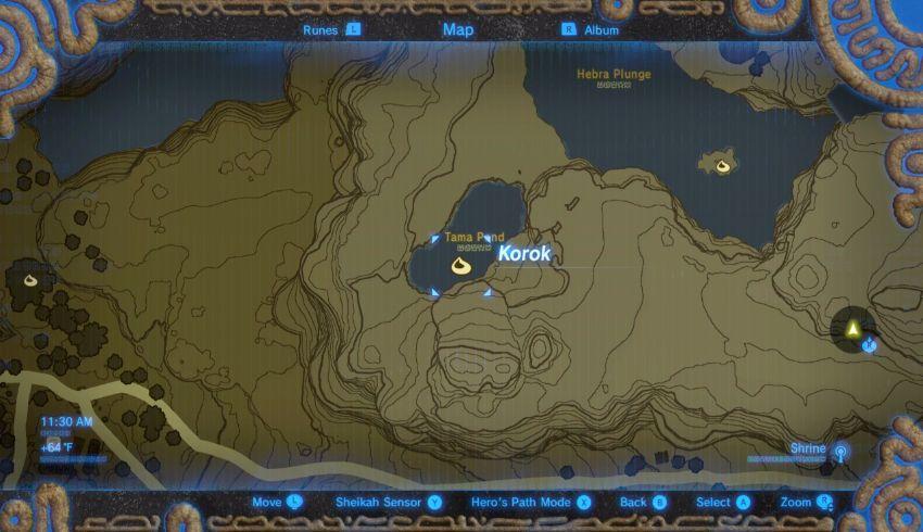 Hebra Korok Seed Locations Zelda Dungeon