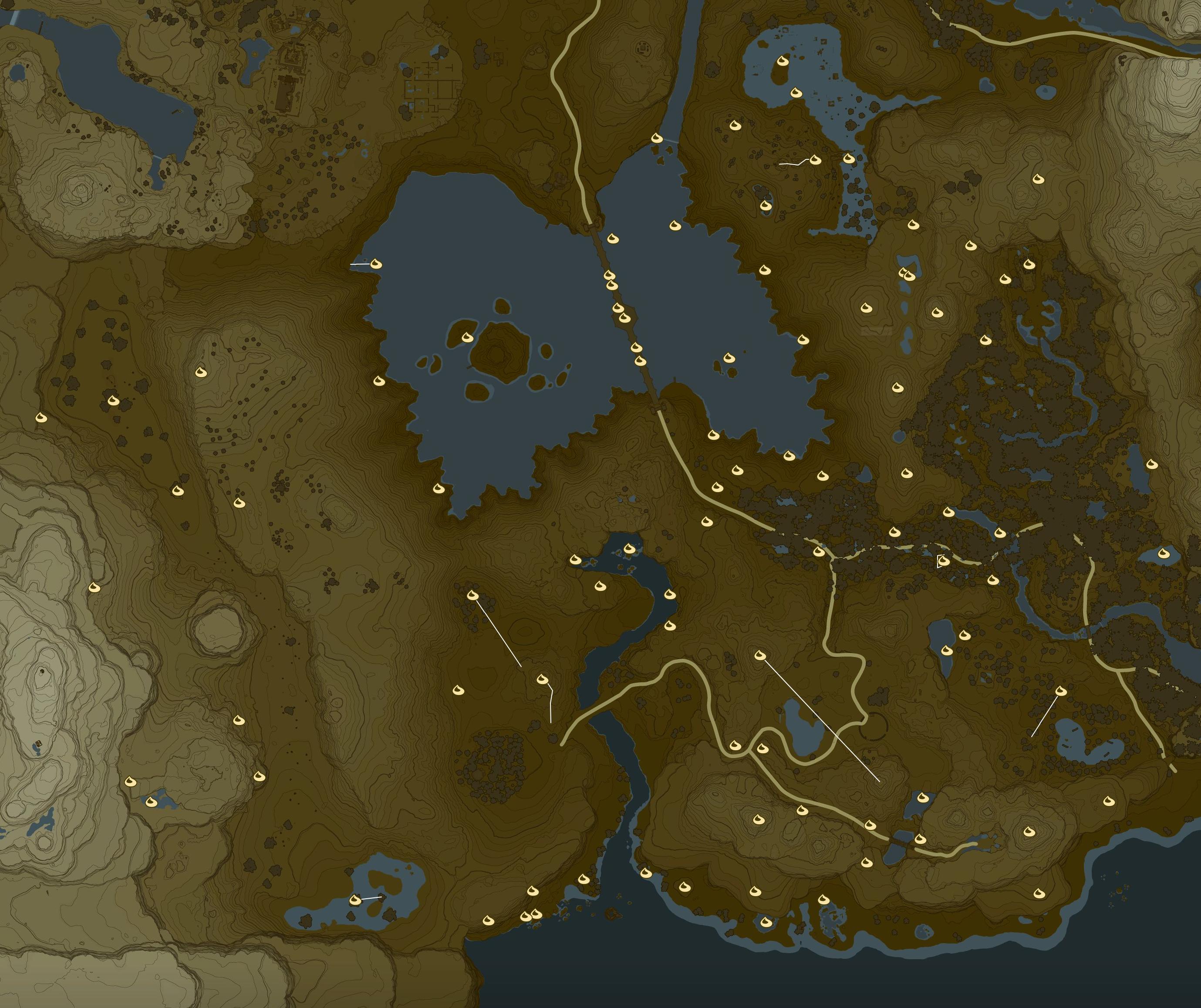 Lake Korok Seed Locations Zelda Dungeon
