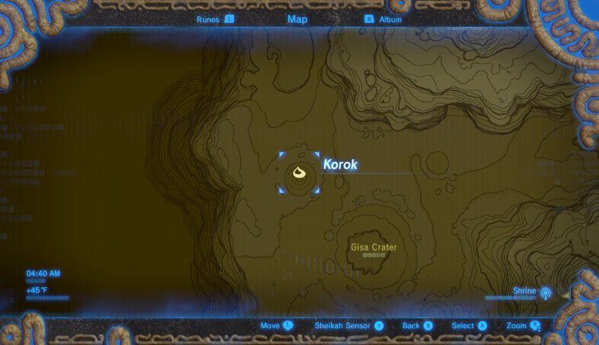 Tabantha Korok Seed Locations Zelda Dungeon