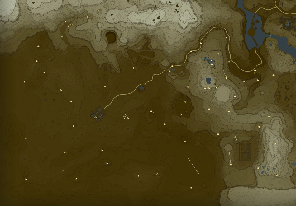 Wasteland Korok Seed Locations Zelda Dungeon