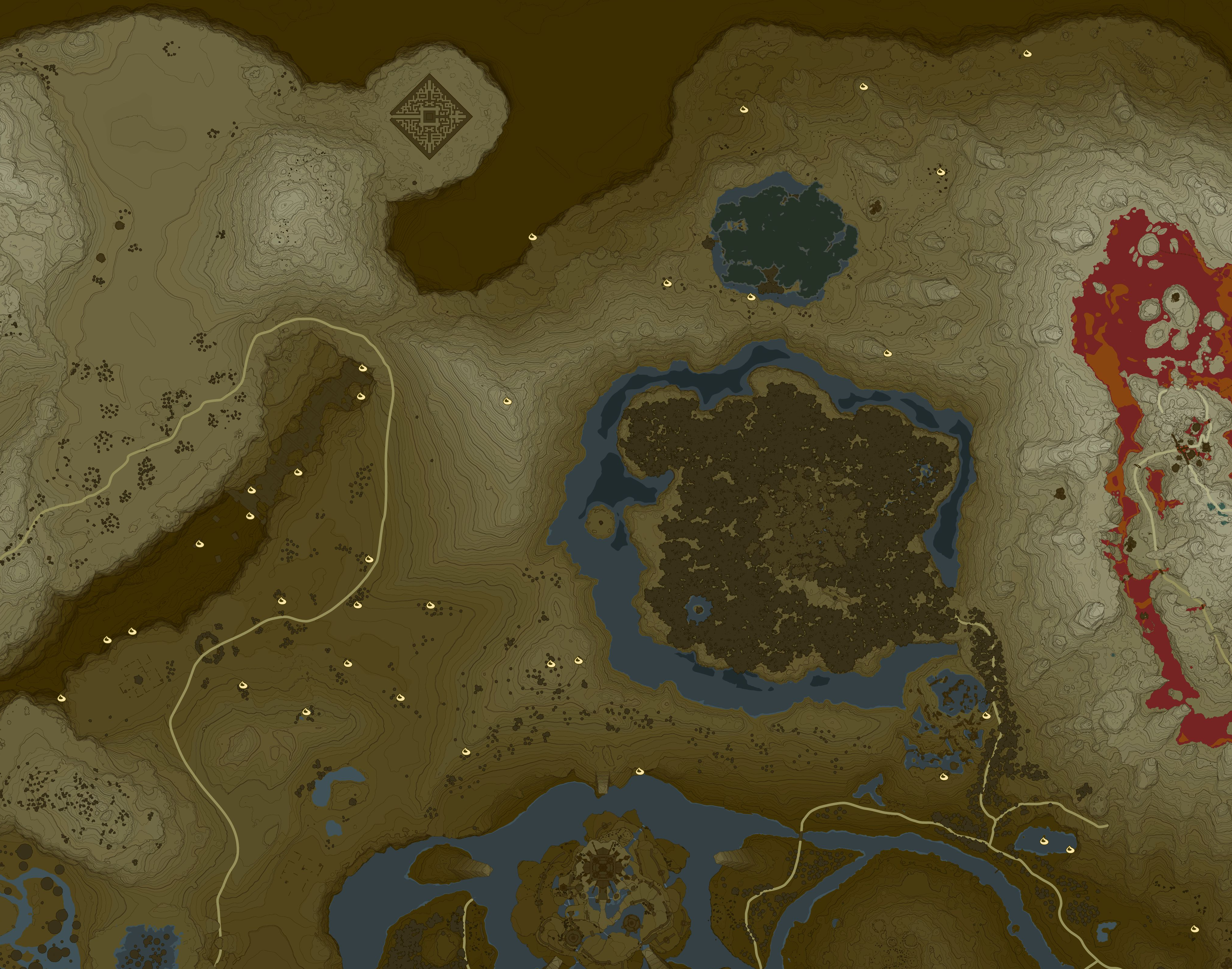 Woodland Korok Seed Locations Zelda Dungeon