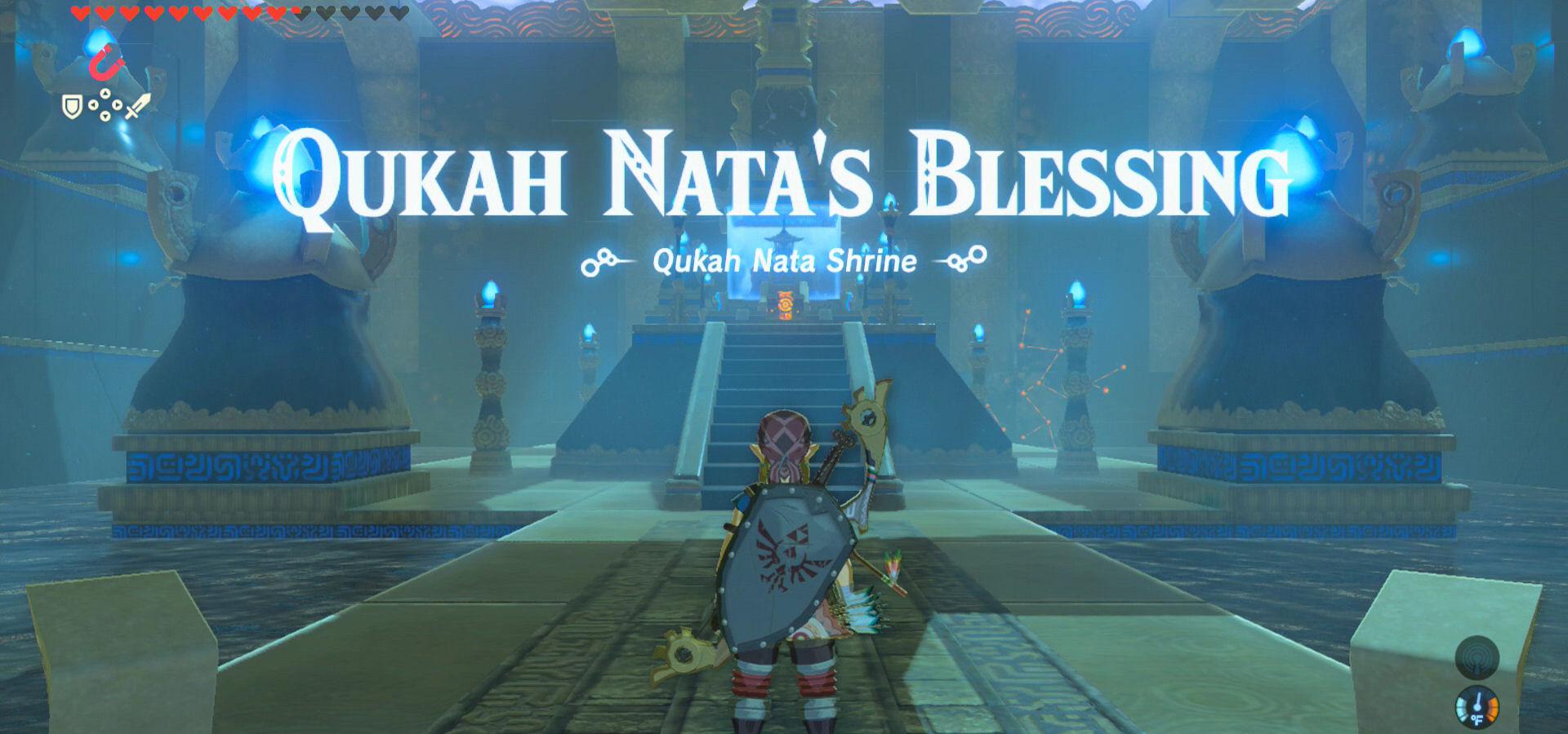 Qukah Nata Shrine Guide Zelda Dungeon