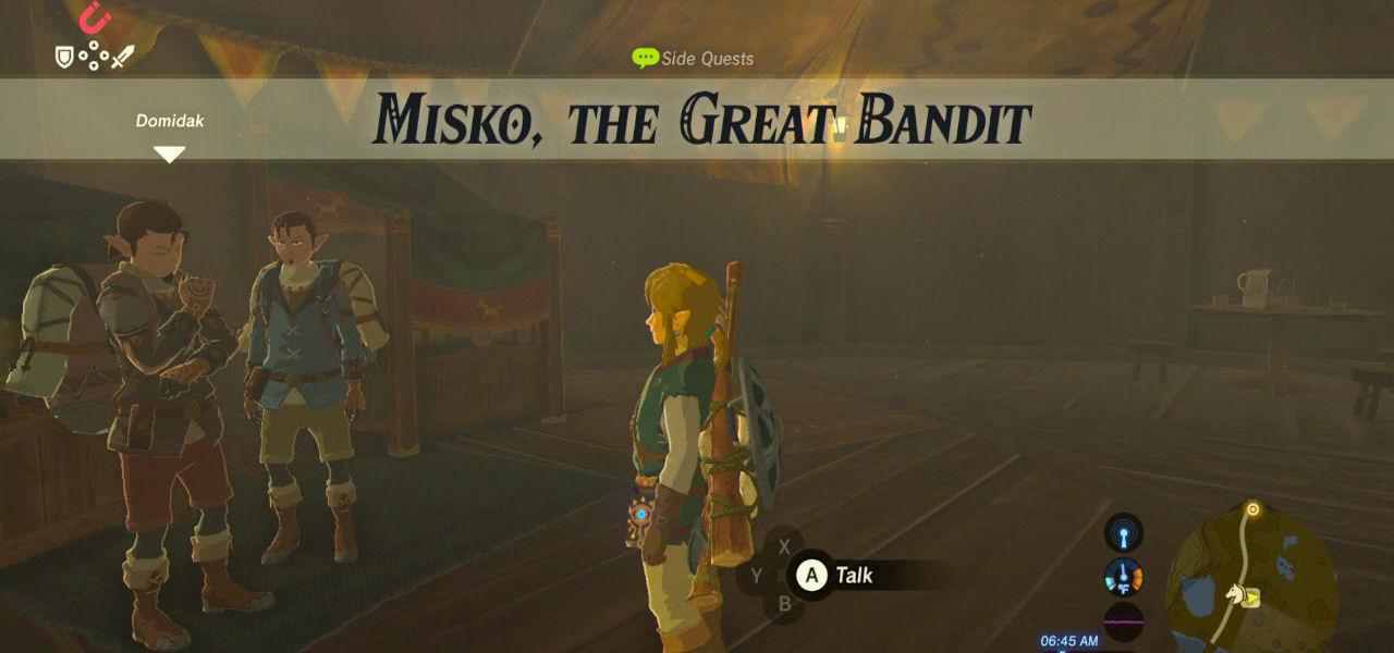 Misko The Great Bandit Zelda >> Misko The Great Bandit Zelda Dungeon
