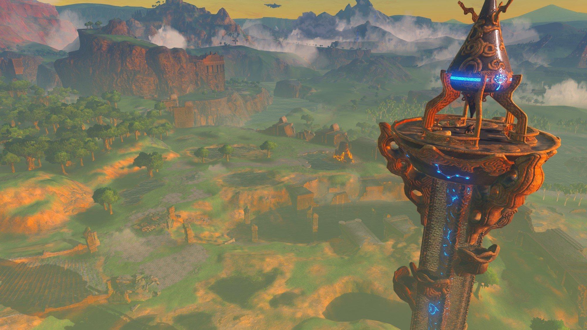Breath Of The Wild Walkthrough Great Plateau Zelda Dungeon